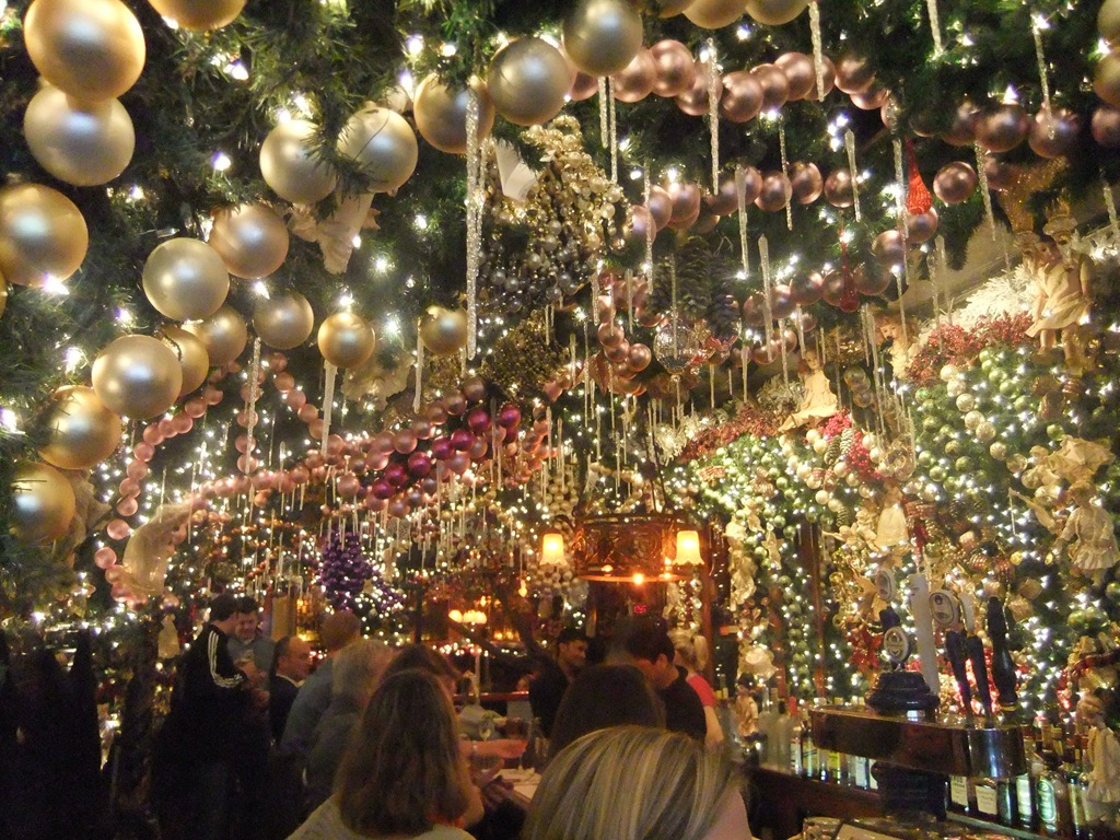 see a christmas cornucopia at rolffs german restaurant